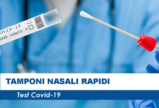 Tamponi rapidi in farmacia